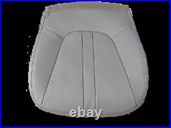 00-2002 Expedition Addie Bauer XL V8 GAS Driver Bottom Leather Seat cover GRAY